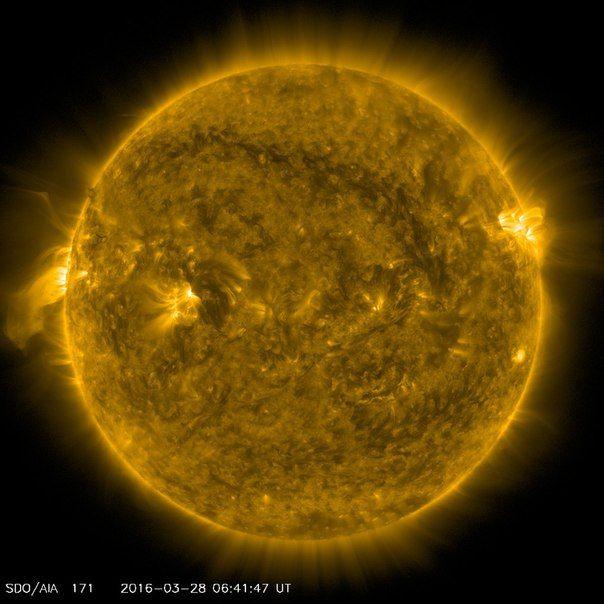 Солнечная активность 28 / Интересный космос