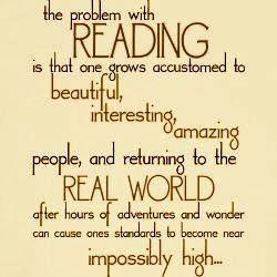 Reading gives us high standards #book #quote