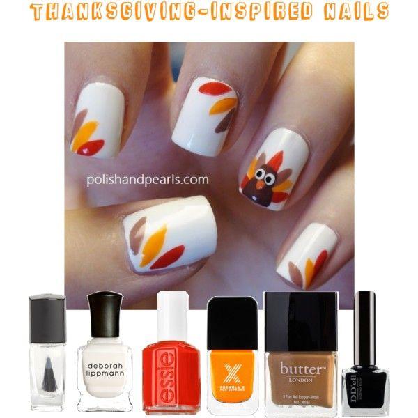 Thanksgiving-Inspired Nails   Nails   Pinterest   Nails, Thanksgiving nails and Thanksgiving nail art