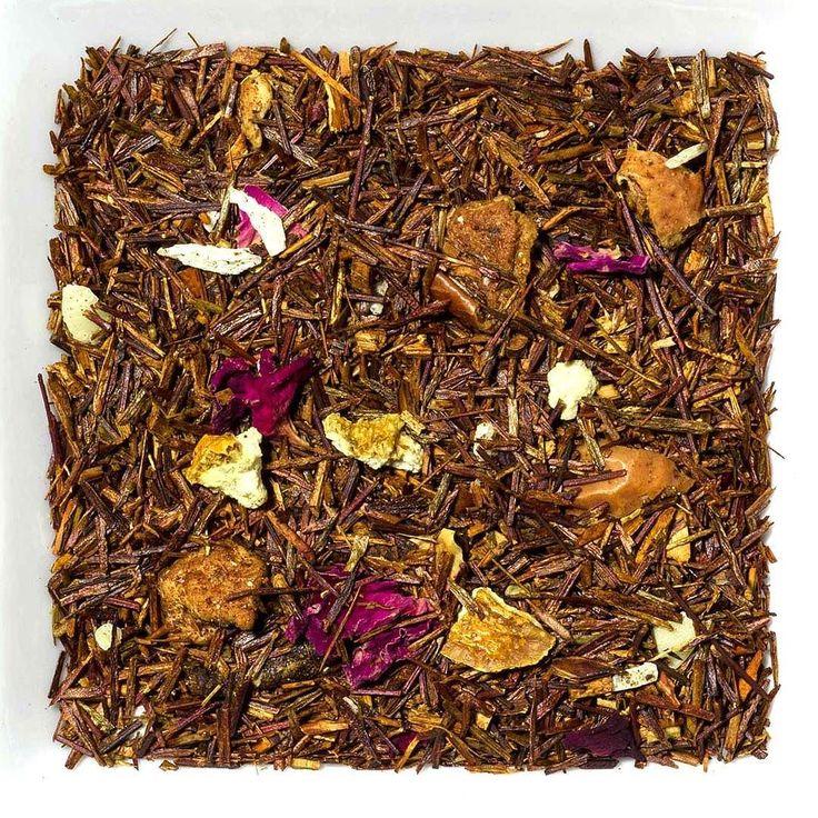 """Neu! Rotbuschtee """"Sternschnuppe"""" Aromatisierte Rooibusch-Tee-/Früchtemischung  Mit frisch-fruchtigem Apfel- und edlem Marzipangeschmack lädt diese Rooibusch-Teemischung nicht nur in der Winterzeit zum Träumen ein. Geschmacksbild: fruchtig Geschmacksrichtung: Apfel Marzipan  Zutaten: Rooibusch-Tee Zitrusschalen Apfelstücke Aroma KokosraspelnMandelngehackt Rosenblütenblätter. #tee #teelux #rooibos #rotbuschtee #rotbusch #früuechetee #Früchteteemischung"""