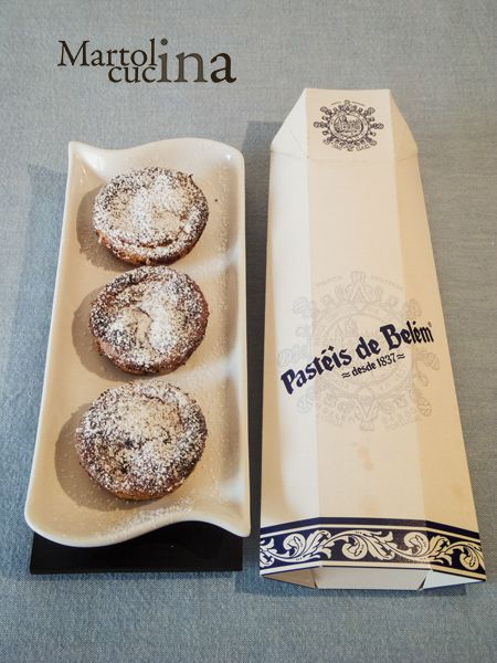 PASTEIS DE NATA (O PASTEIS DE BELEM) #pasteis #nata #belem #portogallo #lisbona #dolci #dolcetti #pasticcini #uova #sfoglia