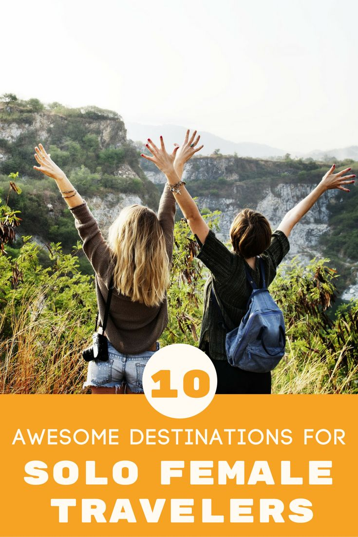 10 of the safest destinations for solo female travelers, from Iceland to  Costa Rice.