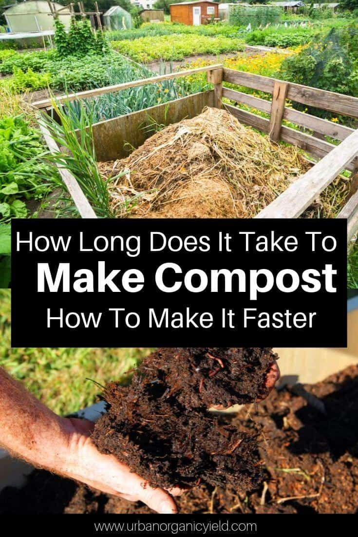 How long does it take to make compost and how to make it