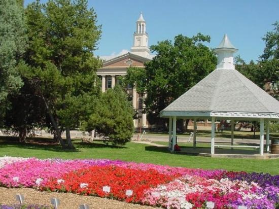 My alma mater, the former Fort Collins High School, now a part of CSU.  Fort Collins High has mo