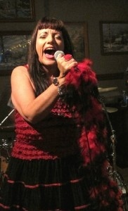 Blues singer  Candye Kane