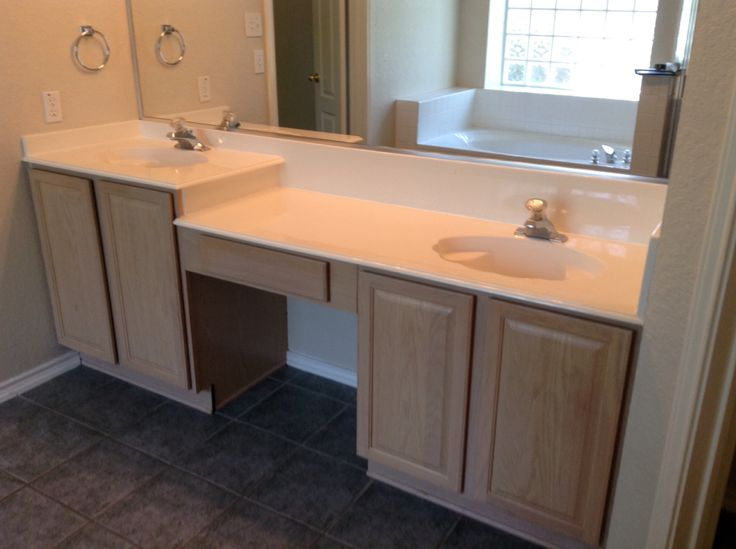Before we installed the new sinks