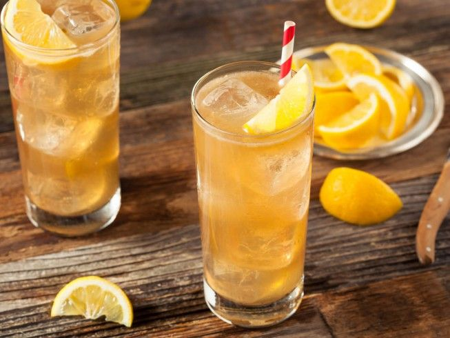 A recipe for Southern Long Island Iced Tea made with cola, sweet and sour mix, gin, vodka, rum, tequila, triple sec, lemon juice, lime juice