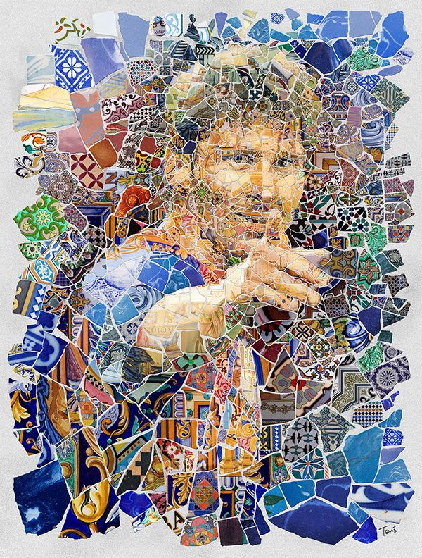 Lio Messi: Els fragments de Barcelona, project by Charis Tsevis - ego-alterego.com