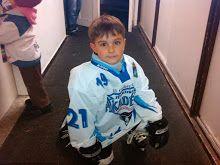 My son's ice-hockey player <3