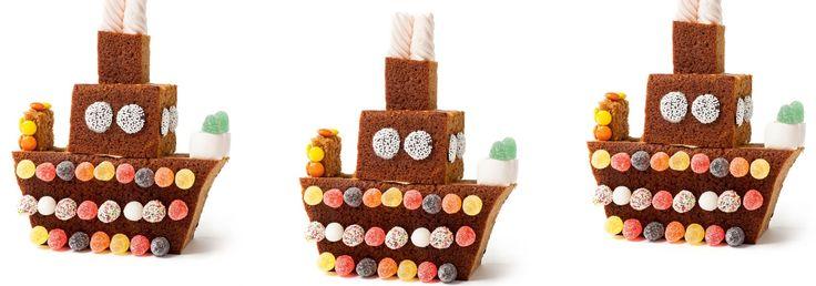 Je kunt overal een feestje van maken; een verzameling van de mooiste Sinterklaas-kindertraktaties.