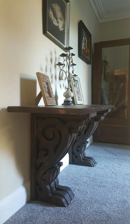 A victorian gothic desk / table Made to order by PLP Woodworks