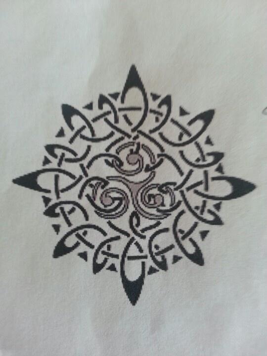 Sun & Triskell = Eternity & Life