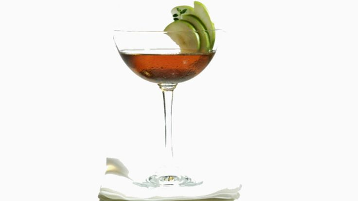 Appel-Martini cocktail