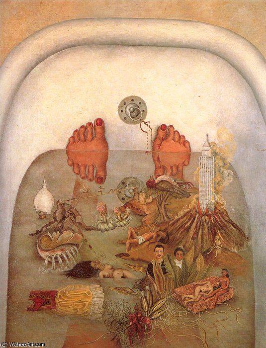 101 besten frida kahlo gem lde bilder auf pinterest selbstportr ts frida khalo und leben leben. Black Bedroom Furniture Sets. Home Design Ideas