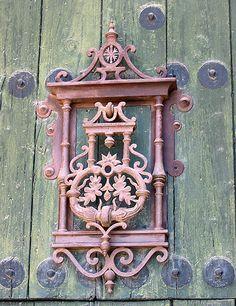 Door Knocker in Jaen, Spain
