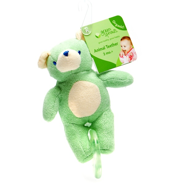 There will be happy babies everywhere when they have this soft little bear to chew on.