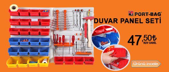 Ürün hakkında bilgi almak ve satın almak için tıklayınız! http://www.tokgozler.com/port-bag-duvar-panel-seti-dp01