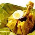 Comida típica de la Selva Central: Juanes de gallina de chacra
