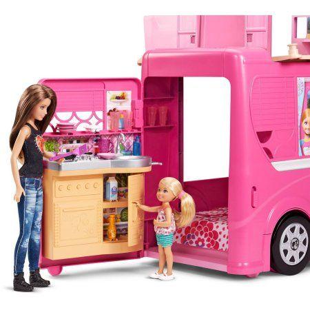 Barbie Pop-Up Camper Playset Image 8 of 21