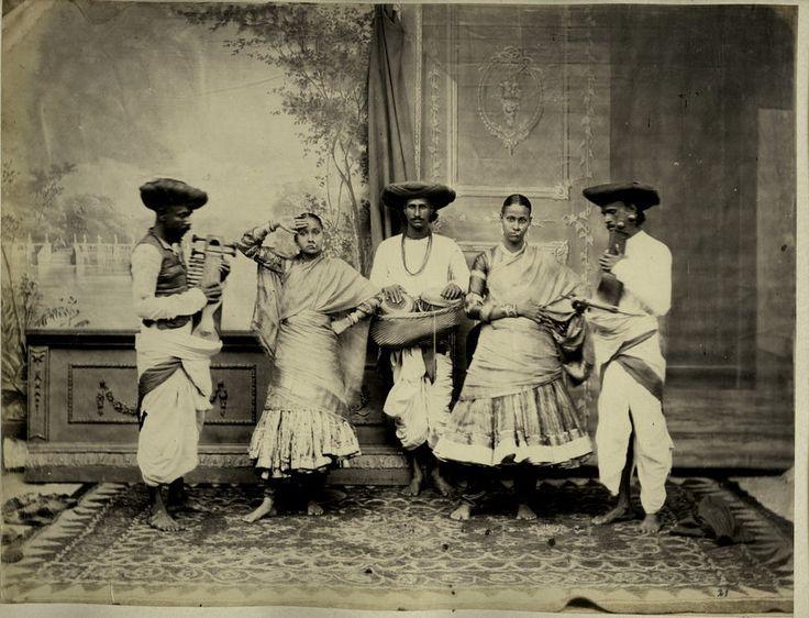 Dancers, early 1900s Dehli