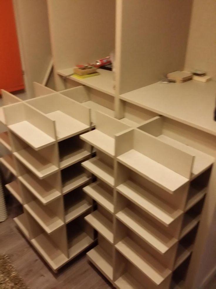 78 mejores ideas sobre closet de melamina en pinterest for Ideas para hacer un zapatero
