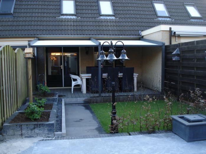Pergola zonwering tuin ideeen pinterest pergola patio and deck shade - Hout pergola dekking ...
