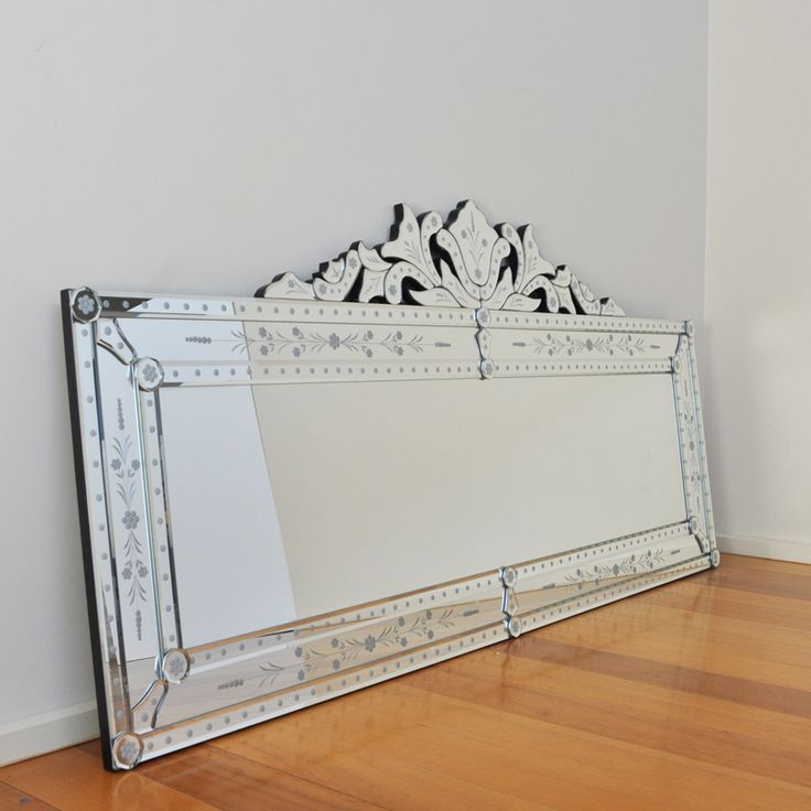 #Florence Venetian Wall and Floor Mirror- For hall entrance