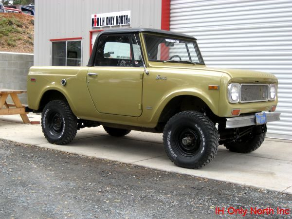 "▒ ""Stumpy"" 1971 Scout 800B by IH Parts America ▒"