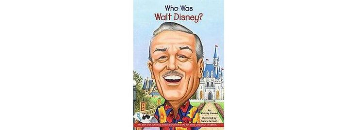 Who Was Walt Disney? (Paperback)- good book for Vinny to read