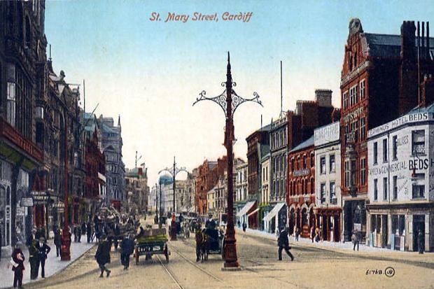 Cardiff, St Mary Street