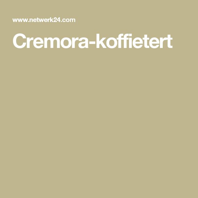 Cremora-koffietert