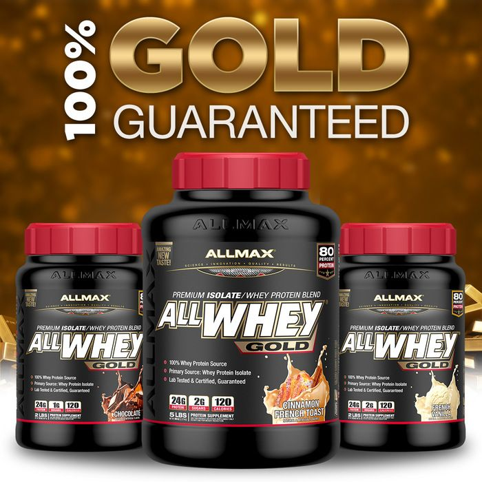 Searching for real gold? That will take forever!  How about an unsurpassed high-quality protein to ignite your muscle gains #ALLWHEYGold! #ALLWHEYGold has been formulated with the most superior blend of whey protein available – cross-flow, ultra-filtered, non-denatured #wheyprotein isolate and whey protein concentrate – and doesn't contain ANY banned substances, gluten, added sugars or added aminos.