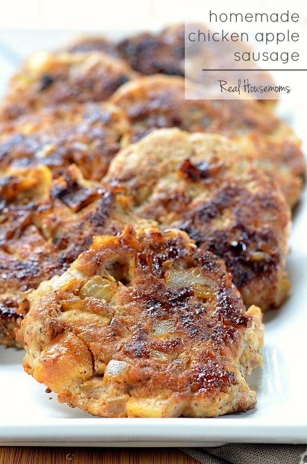 Homemade Chicken Apple Sausage | Real Housemoms