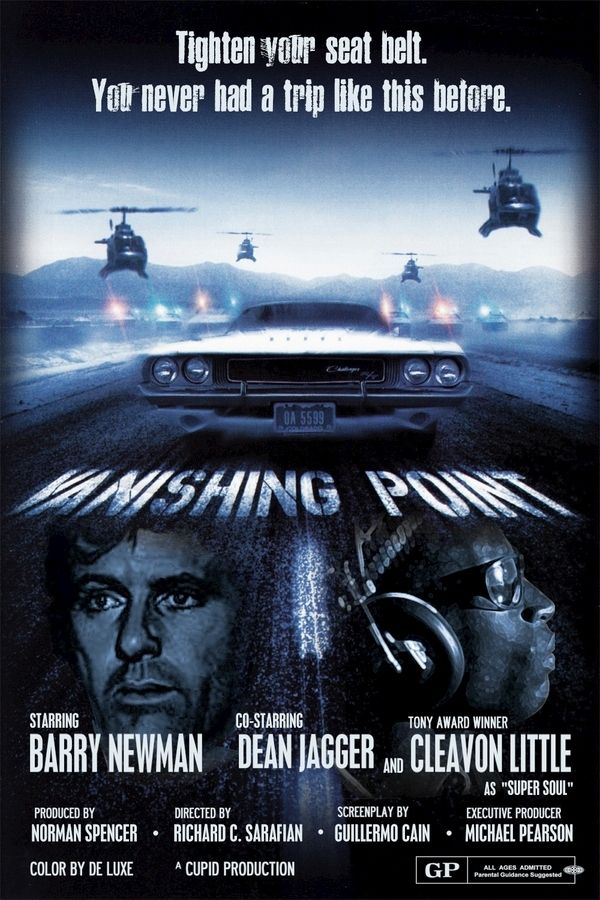 VANISHING POINT. I liked both versions of this movie. I wish they would reproduce the original