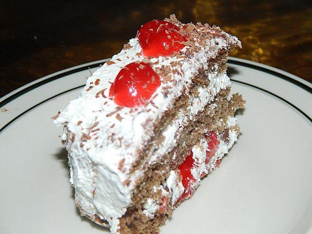 Torta Selva Negra Schwartzwaldtorte Black Forest Cake