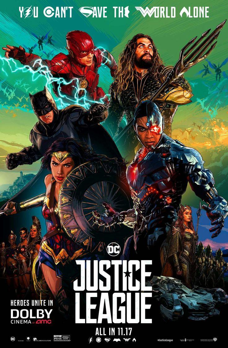 Póster Justice League Dc comic