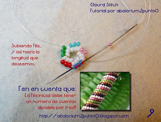 Gourd Stitch Tutorial