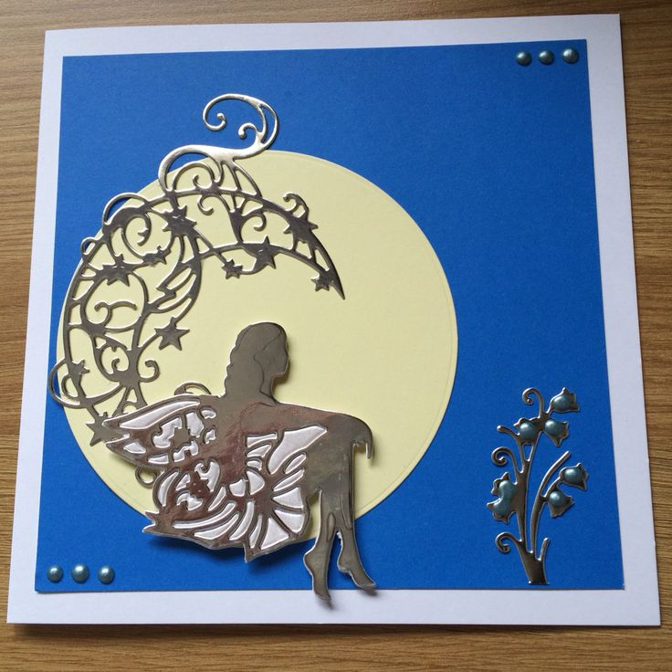 Fairy card made using Tonic dies