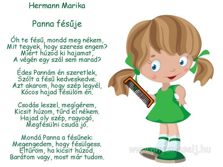 Hermann Marika: Panna fésűje