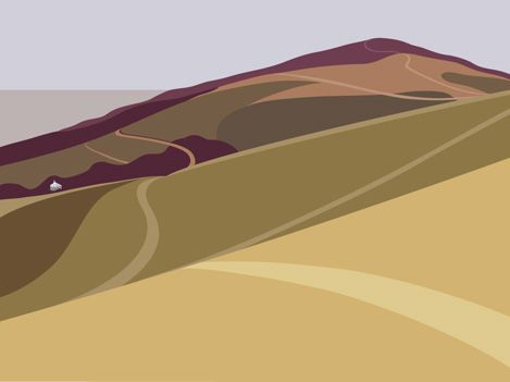 Ian Mitchell - landscape prints
