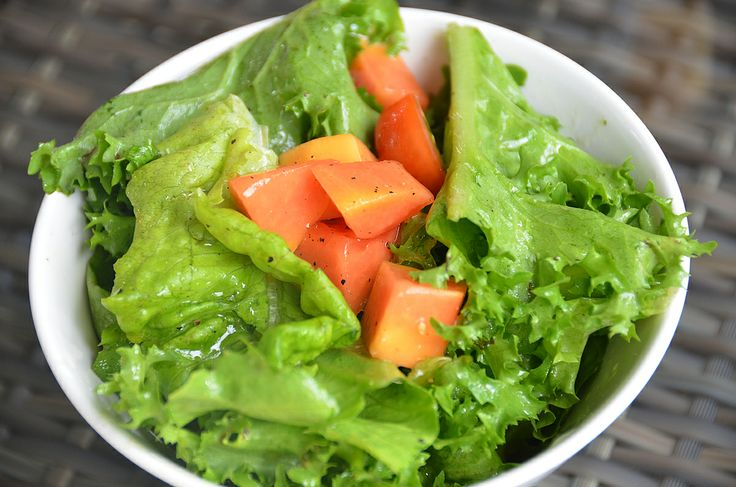 Organic salad.. fresh and tasty!~
