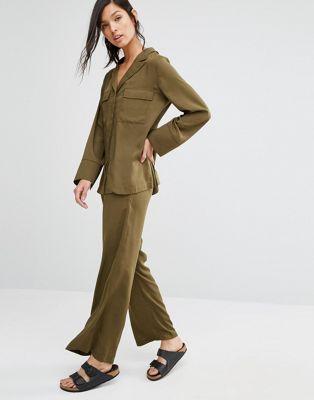 Neon Rose - Pantalon d'ensemble coupe large