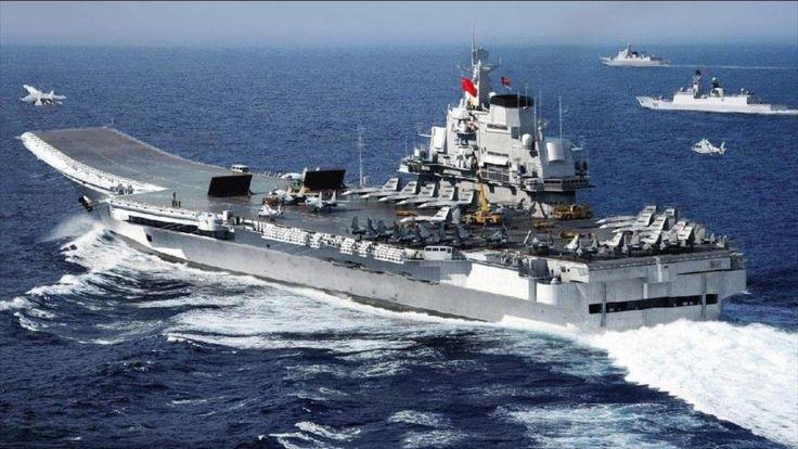 El portaaviones chino Lianoning (CV-16).