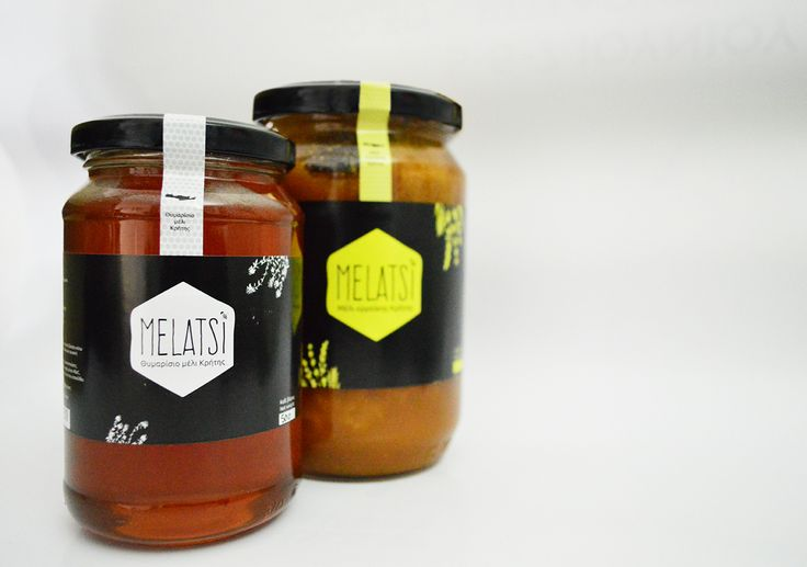 Melatsi Cretan Honey on Packaging of the World - Creative Package Design Gallery