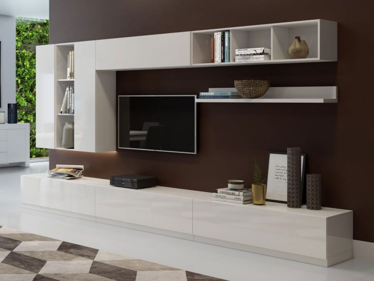 Interior Design Meuble Tele Blanc Composition Meuble Tv Max001