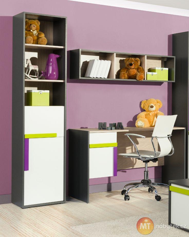 Moderní dětský pokoj pro kluka i pro holku  kids bedroom