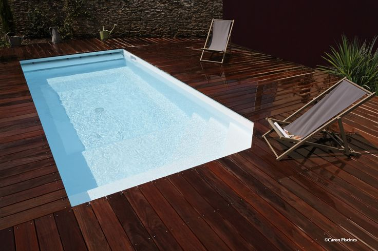Mini piscine caron piscines piscines pinterest for Mini piscine