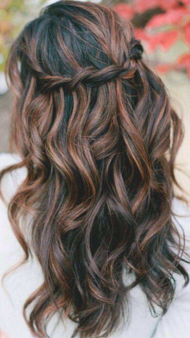 Best 25 Red Brown Highlights Ideas On Pinterest Hair