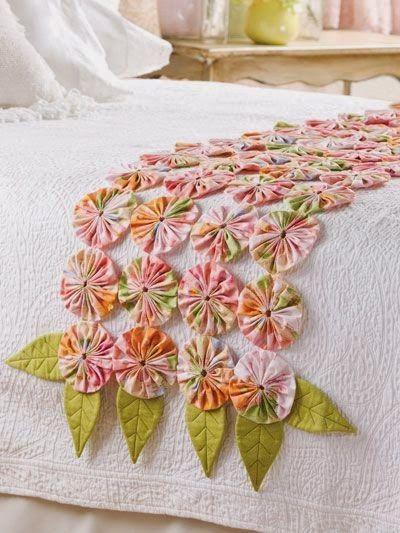 LOJA SINGER PORTO: Dicas de Costura - Flores Fuxico