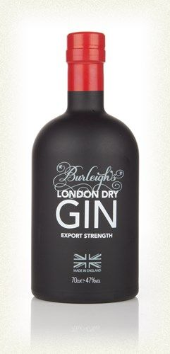 Burleighs London Dry Gin Export Strength